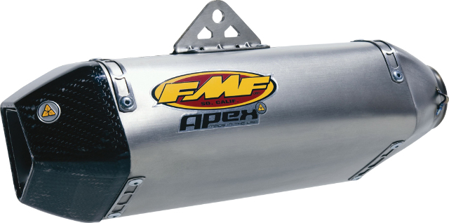FMF Apex Titanium Slip-On Muffler w/Titanium End Cap Honda Cbr600rr Cbr 600rr Abs