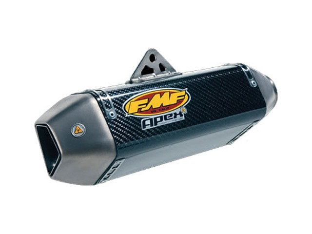 FMF Apex Slip-On Muffler Exhaust Carbon Fiber Kawasaki ZX10R 10R 2011-2012