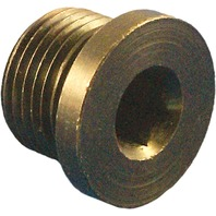 Daytona Twin Tec - 115002 - 18mm Mild Steel Plug for O2 Sensor Ports