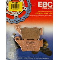 ATK, Husqvarna, KTM (select 94-14) Sintered Rear Brake Pads EBC FA208R