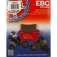 KTM 65SX 65XC 105SX 105XC (select 02-11) Front or Rear X Brake Pads EBC FA357X