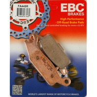 YFM550FG Grizzly FI 4x4 (09-10) Rear Sintered Brake Pads EBC FA445R