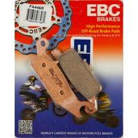 Yamaha YFM700 YFM550 (select 07-15) Rear Sintered Brake Pads EBC FA446R