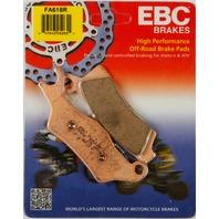 EBC - FA618R - R Series Long Life Sintered Brake Pads