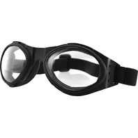 Bobster Bugeye Goggles in Black W/Clea 26-4742-WPS