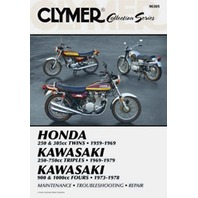 Clymer - M305 - Repair Manual, Vintage Collector Series