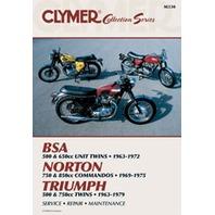 Clymer Manual Vintage British Street 27-M330-WPS