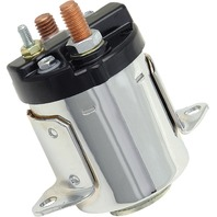 Accel - 40114C - Starter Solenoid, Chrome Plated