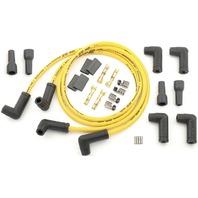 Accel - 173082-K - Universal 8.8mm Plug Wire Kit, Dual Plug 90 Deg. Ends - Black