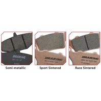 Braking - 929CM46 - CM46 Sintered Brake Pad