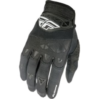 Youth Medium F-16 Gloves in Black (Size  5) by Fly Racing 370-91405