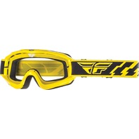 Adult Fly Racing Focus MX Dirt Bike  Goggle in Yellow 37-3003-WPS