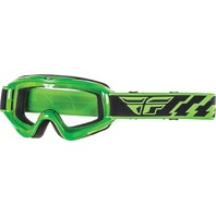 Adult Fly Racing Focus MX Dirt Bike Goggle in Green 37-3005-WPS
