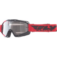 Youth Fly Racing Zone MX Dirt Bike Goggle in Red/Black 37-3025