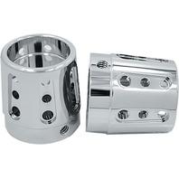 Avon Grips - AXL-GAT-CH-78 - Gatlin Axle Nut Covers, 7/8in. - Chrome