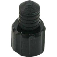 DRC - D58-05-104 - Air Valve Caps with Wrench, Black