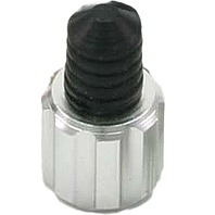 DRC - D58-05-101 - Air Valve Caps with Wrench, Silver