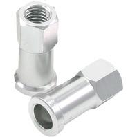 DRC - D58-02-101 - Rim Lock Nuts, Silver