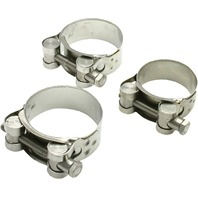 DRC - D31-32-360 - Stainless Steel Exhaust Clamp, 36mm-39mm