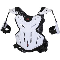 Evs F2 Chest Protector White Xl 663-3038-WPS