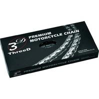 EK Chain - 530Z/3D/C-160 - 530 Z 3D Premium Chain, 160 Links - Chrome/Nickel
