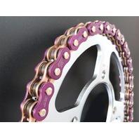 EK Chain - 530ZVX3-120/AP - 530 ZVX3 Series Chain, 120 Links - Purple