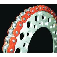 EK Chain - 530ZVX3-160/AO - 530 ZVX3 Series Chain, 160 Links - Orange
