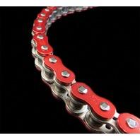EK Chain - 530ZVX3-160/AR - 530 ZVX3 Series Chain, 160 Links - Red