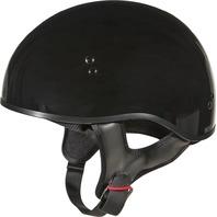 Small Gmax Basic Half Helmet in Gloss Black 72-6430S-WPS