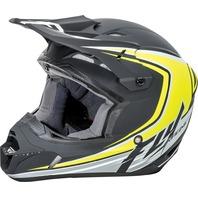 Fly Racing Youth Small Dirt Bike Helmet in Black, Hi-Viz 73-3375YS