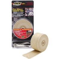 DEI - 901122 - Exhaust Wrap and Tie Kit, Tan