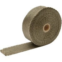 DEI - 901129 - Individual Exhaust Wrap Roll 2in. x 15ft., Titanium