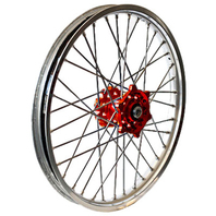 D.I.D Wheel 2.15X18 Red/Sil 856-4155RS-WPS