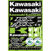 D\'Cor Decal Sheet Kawasaki 862-21100-WPS