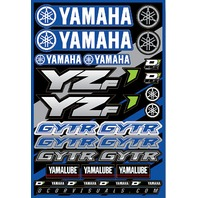 D\'Cor Decal Sheet Yamaha Yzf 862-51100-WPS