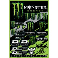 D\'Cor Decal Sheet Monster Energy 862-90102-WPS