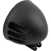 EMD - HL/VA/B - 5 3/4in. Bottom Mount Headlight, Vitamin A Headlight Shell Black