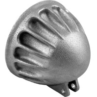 EMD - HL/VC/R - 5 3/4in. Bottom Mount Headlight, Vitamin C Headlight Shell Raw