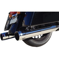 FireBrand - 10-1001-CA - Loose Cannons 4in. Slip-Ons, Chrome